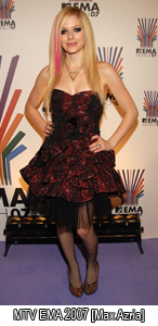 Avril Lavigne's Dress